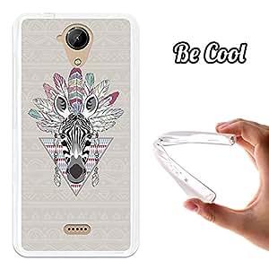 Becool® - Funda Gel Flexible para Wiko U Feel Lite .Carcasa TPU fabricada con la mejor Silicona protege, se adapta a la perfección a tu Smartphone y con nuestro diseño exclusivo