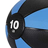 F2C 10 lbs Medicine Ball Workout Med Ball for