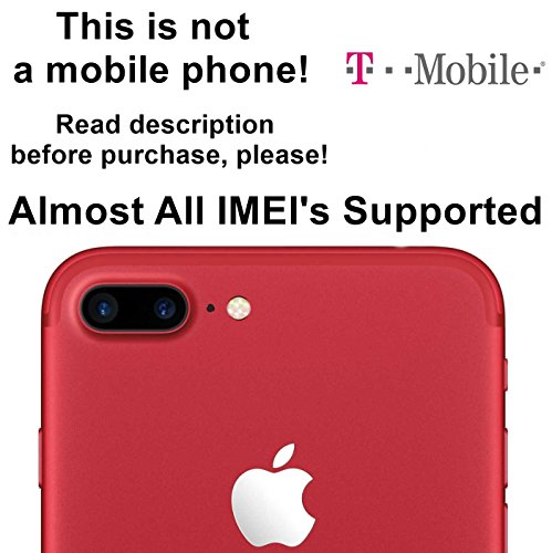 T-Mobile USA Unlocking Service for iPhone 7, 7 Plus, 6s, 6s Plus, SE, 6, 6 Plus, 5s, 5c, 5, 4s Models - Make Your Device More Useful Than Before - Choose Any Carrier at Your Own at Any Time You Need - No Re-lock Lifetime Guarantee