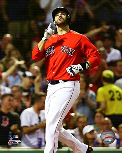 wholesale dealer 38dc5 dd92e Amazon.com: J.D. Martinez Boston Red Sox MLB Action Photo ...
