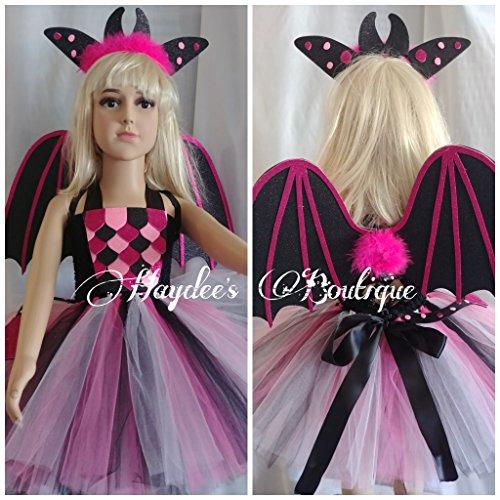 Black Dragon Tutu Dress Set by Haydee's Boutique