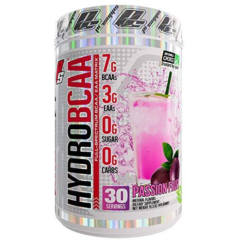 ProSupps HydroBCAA BCAA/EAA Full Spectrum Matrix, 7g BCAAs, 3g EAAs, 0g Sugar, 0g Carbs, 30 Servings, (Passionfruit Flavor)