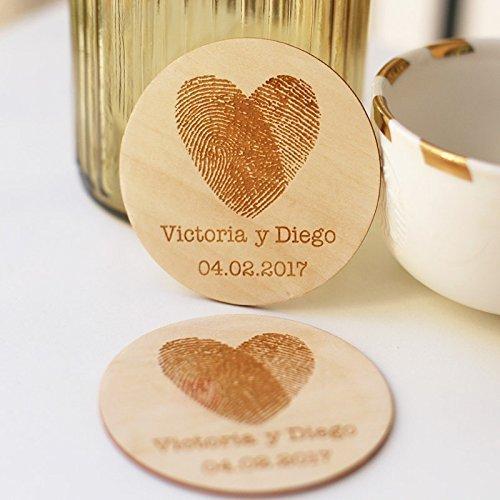 Wedding Favors Coaster.Amazon Com Personalized Coasters Rustic Wedding Favors Wedding