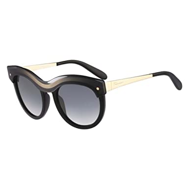 f2924cd163 Image Unavailable. Image not available for. Colour  Salvatore Ferragamo  SF774S-020 Ladies SF774S Black Gradient Sunglasses