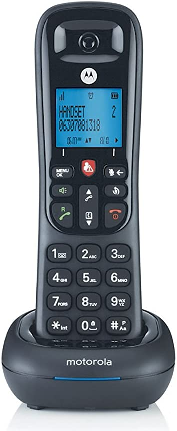 Motorola CD4001 - Teléfono Dect inalámbrico (50 contactos, Manos ...