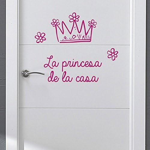 IDEAVINILO - Sticker Decorativo La Princesa de la Casa. Color ...
