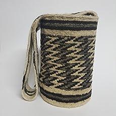 Real Native Colombian Arhuaco handbag - Colombian mochila - Handmade and woven.