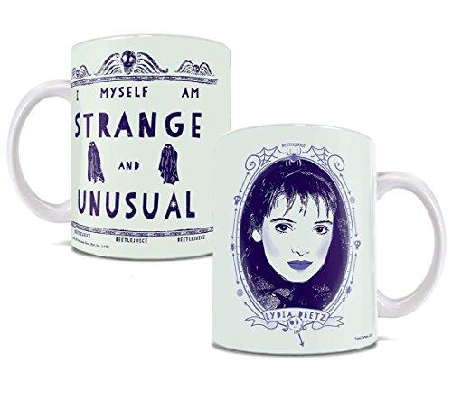 Beetlejuice - Lydia Deetz Strange and Unusual Winona Ryder - Ceramic Mug