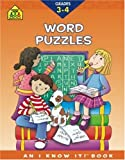 Word Puzzles 3-4, Judith Giglio and School Zone Publishing Company Staff, 0887437524