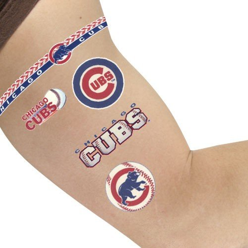 MLB Chicago Cubs 14745031 Tattoos – DiZiSports Store