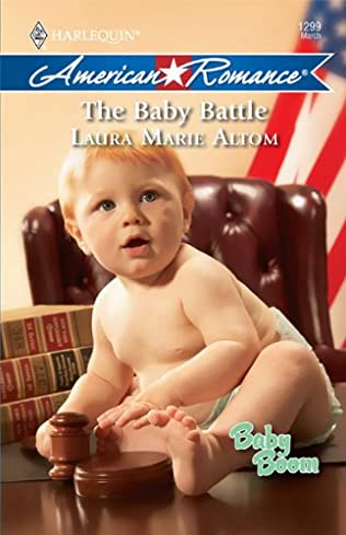 book cover of The Baby Battle