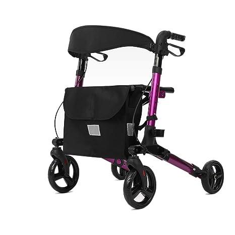 Walking Aid, andador para adultos, 4 ruedas, rodillo de ...