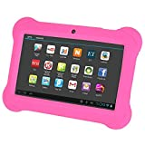 REFURBISHHOUSE 4GB Android 4.4 Wi-Fi Tablet PC Beautiful 7 inch Five-Point Multitouch Display - Special Kids Edition Pink