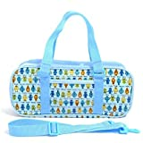 Kids paint bag rated on style to kingdom robot (only bag) Welcome (light blue) made in Japan N2108300 (japan import)