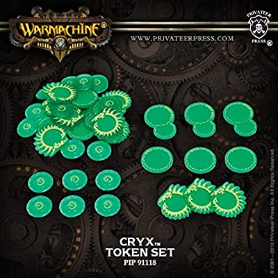 Privateer Press Cryx Token Set Miniature Game PIP91118: Toys & Games