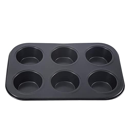 Molde para hornear, Hogar Molde de pastel de acero al carbono de 6 ...