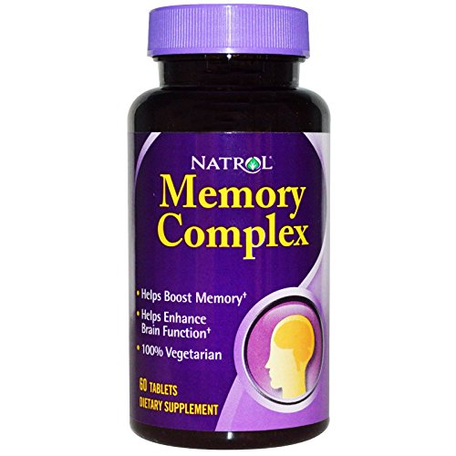 Complex Memory Tablets 60 (Natrol, Memory Complex, 60 Tablets - 2pc)
