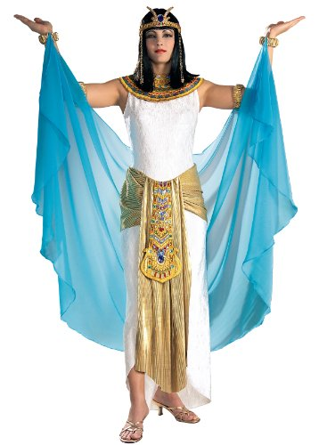 Rubie's Grand Heritage Collection Deluxe Cleopatra Costume, White, Medium]()