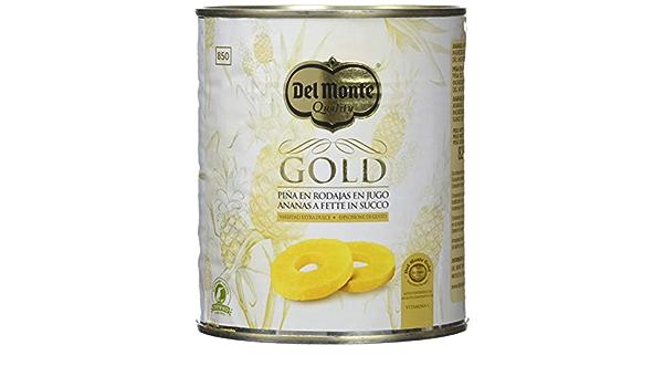 Del Monte - Piña Gold En Su Jugo - 510 gr: Amazon.es ...