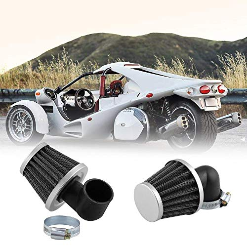 Motorcycle Curved Tube Air Filters Air Filter 35MM 90° Curved Tube Air Filters: Amazon.co.uk: DIY & Tools