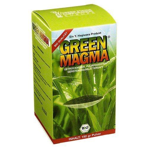GREEN MAGMA Gerstengrasextrakt Pulver, 150 g