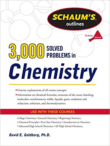 3, 000 Solved Problems In Chemistry (Schaum's Outlines