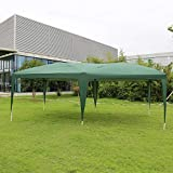 Peach Tree Canopy Wedding Party Tent Heavy Duty Outdoor Gazebo Green (10×20)