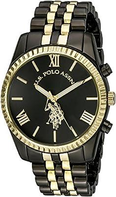 U.S. Polo Assn. Women's USC40059 Analog Display Analog Quartz Two Tone Watch