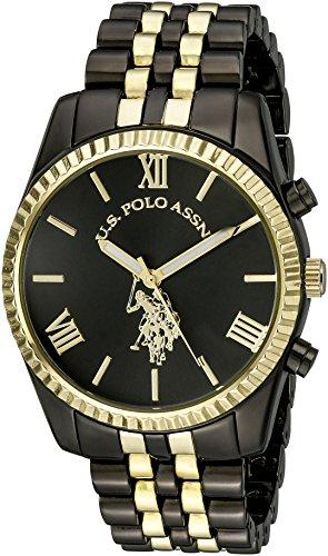 U.S. Polo Assn. Women's USC40059 Two-Tone Bracelet - Big Polo Watch