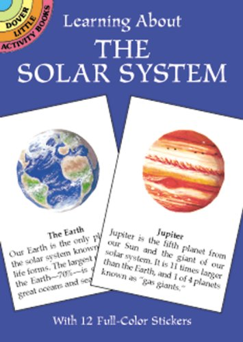 Dover Publishing Little Activity Books: Learning About The Solar System