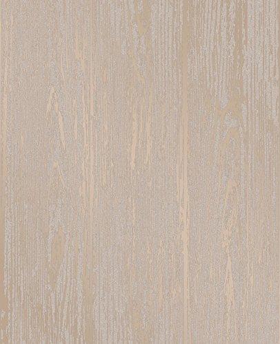 Decorline Enchanted Gold Woodgrain Wallpaper