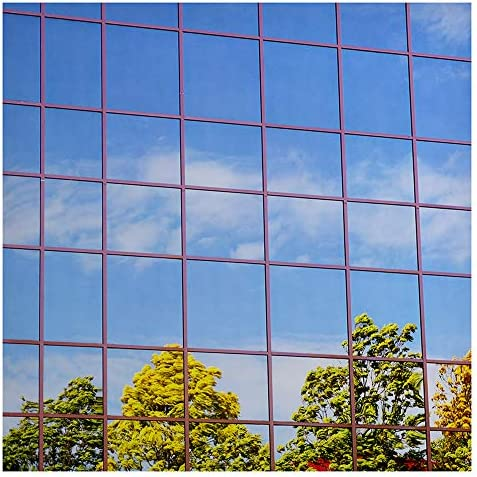 BDF S15 Window Film Daytime Privacy One Way Mirror Silver 15 Dark – 60in X 50ft