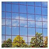 Buydecorativefilm BDF S15 Window Film One Way Mirror Silver 15 (Dark) - 48in X 12ft
