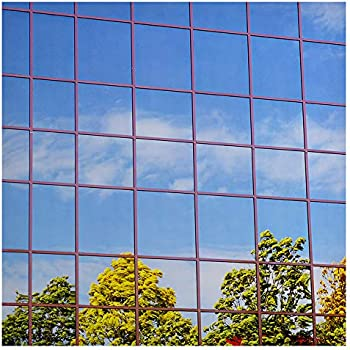 BDF S15 Window Film One Way Mirror Silver 15 (Dark) - 24in X 14Ft