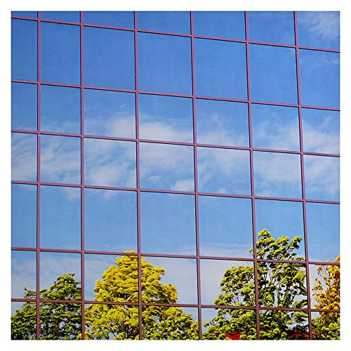 (BDF S15 Window Film One Way Mirror Silver 15 (Dark) - 12in X)