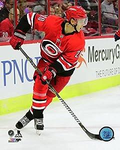 """Sebastian Aho Carolina Hurricanes 2017-2018 NHL Action Photo (8"""" x 10"""")"""