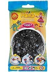 Hama 207-18 Parels, 1000 stuks, zwart