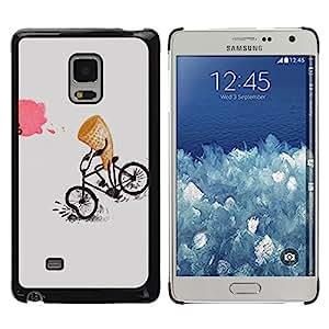 iKiki Tech / Estuche rígido - Ice-Cream Funny Cartoon Kids - Samsung Galaxy Mega 5.8 9150 9152