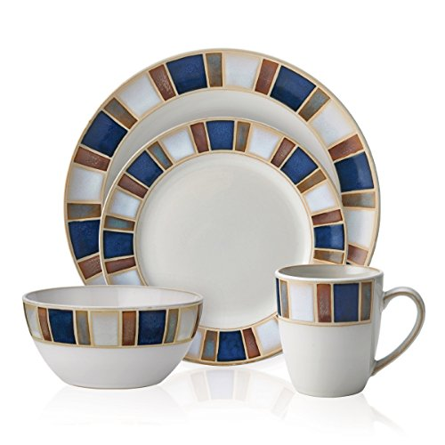 Pfaltzgraff Riviera 16-Piece Dinnerware Set, Service for 4