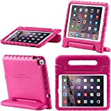 iPad 9.7 2017 case, i-Blason New Apple iPad 9.7 inch 2017 Case for Kids [ArmorBox Kido Series] Lightweight Super Protective Convertible Stand Cover (Pink)