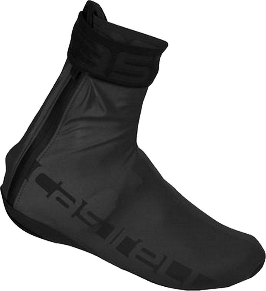 Castelli Reflex Shoe Covers Reflective Black, L