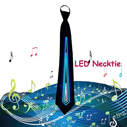 Led Light Up Neckties in US - 9