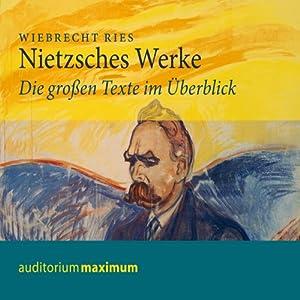Nietzsches Werke. Die großen Texte im Überblick Hörbuch