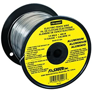 Fi-Shock FW-00007T 1/4 Mile, 14 Gauge Spool Aluminum Wire