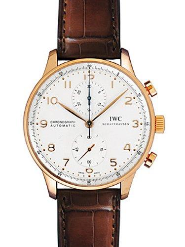 [アイダブリューシー] IWC 腕時計 ポルトギーゼ クロノグラフ IW371480 RG/レザー メンズ 新品 [並行輸入品] B00M3XSV62
