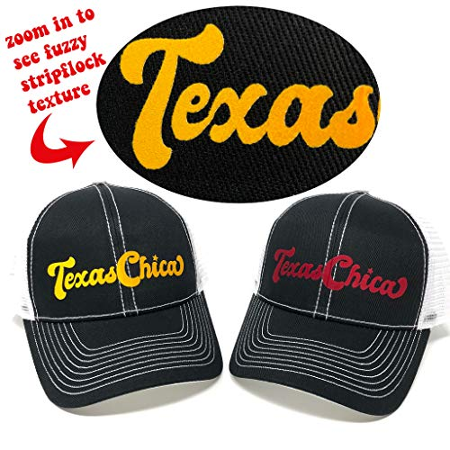 Amazon.com: Texas Girl - Black Trucker Hat - Southern Girl ...