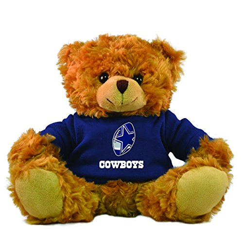 Gulf Coast Sales NFL Dallas Cowboys Hoodie Bear, Brown, 9-inch