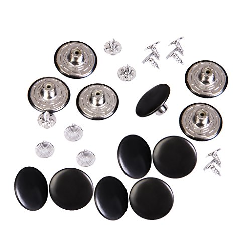 D DOLITY ジーンズ用 衣類用スーツ ジーンズ ボタン 交換用ボタン 工字型 20mm 12セットの商品画像
