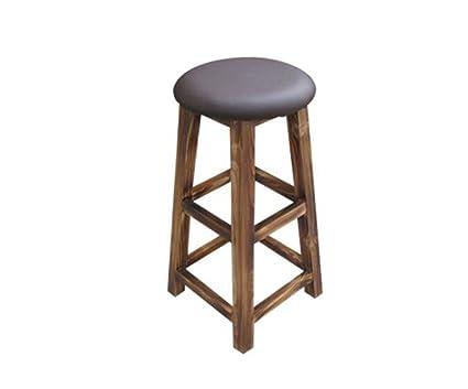 Prendi uno sgabello puro legno massello alta sedia bar sgabello da
