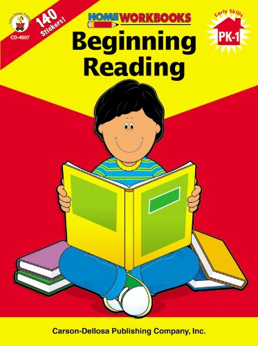 Beginning Reading (Home Workbooks) by Frank Schaffer Publications/Carson Dellosa Publications